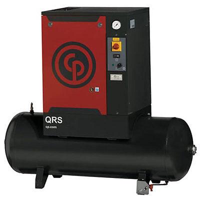 Chicago Pneumatic 15-HP 120-Gallon Rotary Screw Air Compressor (208/230/460V ...