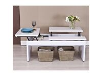 Lift Top coffee Table white ( not ikea,MFI, B&Q etc. )