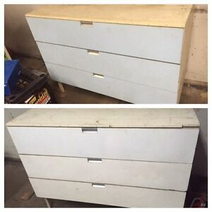2 Work Benches With Storage Both For $100