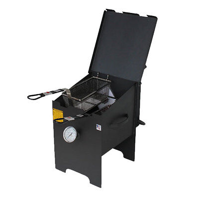 R&V Works 4 Gallon Cajun Fryer FF2-R NO CART Fish Outdoor French Fry Deep Cooker