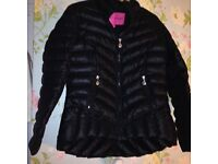 Padded ladies coat as new size 14/16