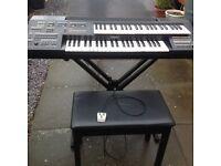 Yamaha HC 4 portable organ keyboard