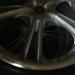 "19"" 5 bolt universal BBS rims and tires"