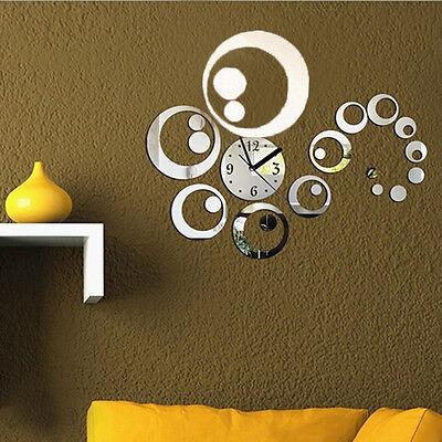 Orologio da parete moderno specchio decorazione regalo diy - Orologi da casa moderni ...
