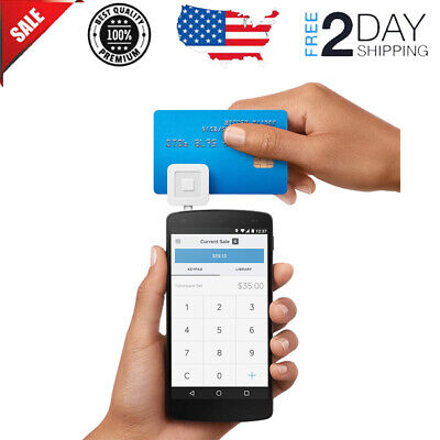 Mobile Debit Credit Card Reader Smart Phone Android Swipe Payment New