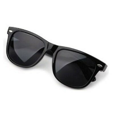 UNISEX Sunglasses  CLASSIC Black Frame 100% UV NEW MEN WOMEN Aviators WayFare