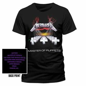 Official-METALLICA-Master-Of-Puppets-T-shirt-Black-2-sided-Sizes-S-to-XXL
