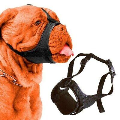 Bozal nylon para perros de hocico corto ajustable y acolchado Safe Boxer