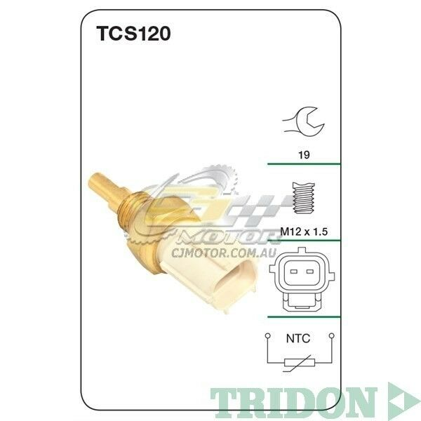 TRIDON COOLANT SENSOR FOR Lexus GS450H 05/06-01/10 3.5L(2GR-FSE)(Hybrid)