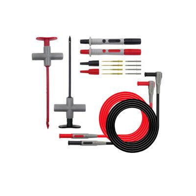 Multimeter Test Lead Kit Wire Piercing Hook Probe