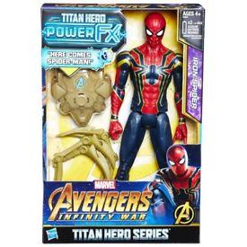 Marvel avengers infinity war iron Spider-Man
