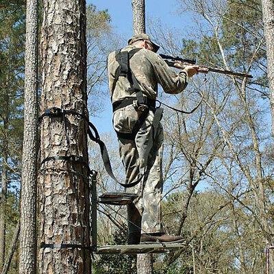 New Hang On Lock On Deer Hunting Tree Stand 1 One Man Ebay