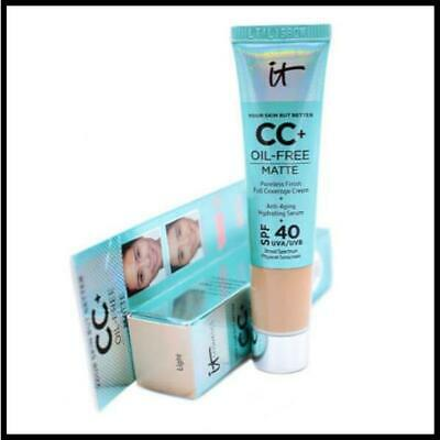 IT Cosmetics Your Skin But Better CC + Oil-Free Matte Cream Foundation Serum