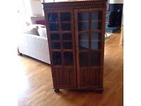 Vintage cocktail/display cabinet