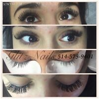 EYELASH EXTENSIONS Glitz Nails