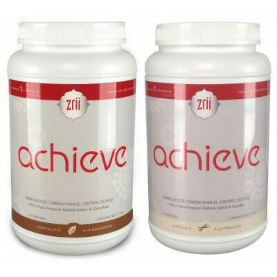 Zrii Achieve Meal Replacement Protein Vanilla / Dutch Chocolate FREE - Meal Replacement Dutch Chocolate