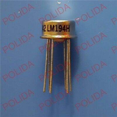 1pcs Mil Spec Supermatch Pair Precision Transistors Ic Nsc To-99 Can-6 Lm194h