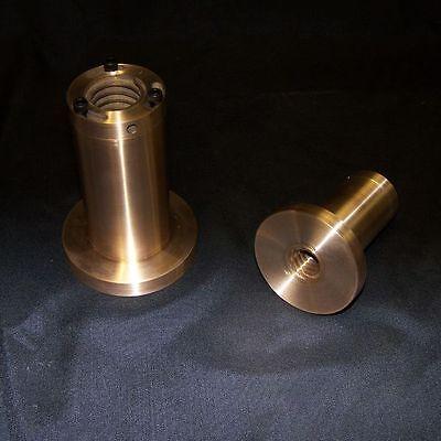 1 5 Pitch Left Hand Adjustable Flange Type Acme Bronze Nut