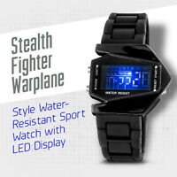 Military LED Stealth Aircraft Watches