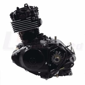 125cc Motorcycle Black Engine Brand New Still In Box