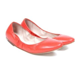 BLOCH leather coral ballet flats / shoes