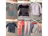 Baby girls clothes, 0-3 / 3-6