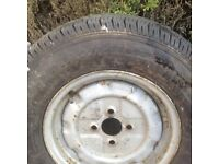Part warn tyre