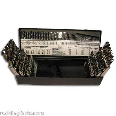 Fastenal 53841 Sp115 115pc Drill Bit Set W Fractional Numbers Letters Usa