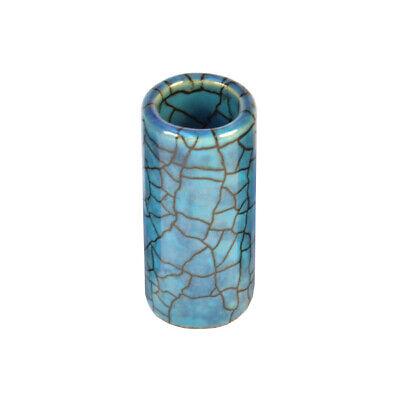 STAR SINGER Blue Lagoon Slide Small ❘ Ceramic Bottleneck ❘ Handmade in...