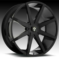 BRAND NEW FULL SET 20inch all black DUB wheels. Ford, Cadillac