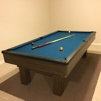 POOL TABLE  (NOT SLATE PLYWOOD)