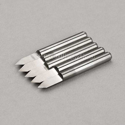 5x High Quality Sharp Carbide Pcb Engraving Cnc Bit Router 60 Deg 0.1mm
