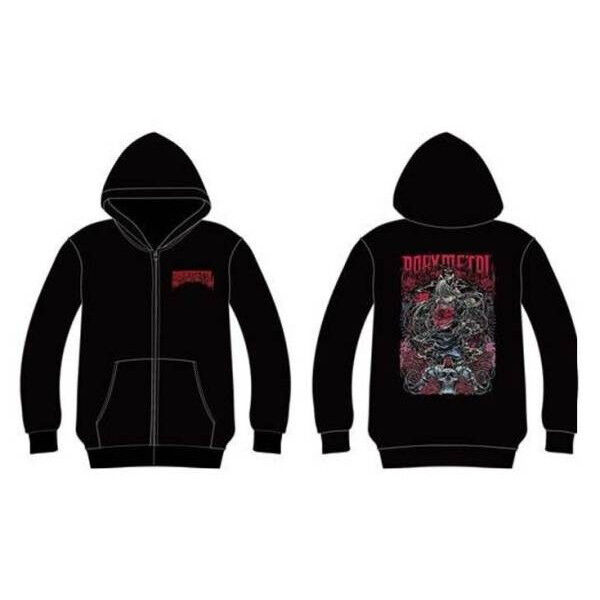 BABYMETAL CALIFORNIA METAL FOX TURN BACK HOODIE UK size S