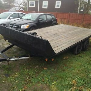 7x14 dual axle trailer