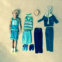 Ken doll w/extra clothing