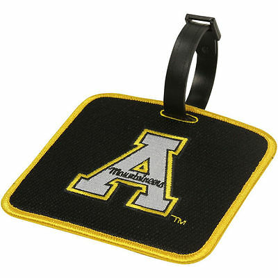 NEW! Appalachian State Mountaineers Golf Bag Tag Embroidered Luggage Tag Appalachian State Mountaineers Golf