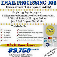 Secondary Income Opportunity: Online Email Processing