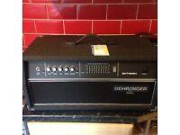 Behringer Bvt4500h bass amp head