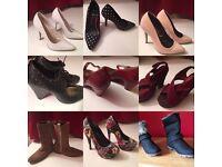 Heels, boots,