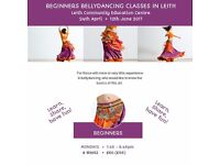 Bellydance classes in Edinburgh Spring-Summer