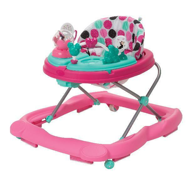 Baby Girl Activity Walker Infant Girls Walk Learning Assistant Music Lights Tray