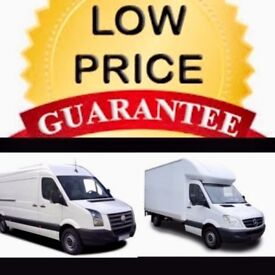 CHEAP BIG VAN & MAN 24/7 Urgent short notice removals house,flat,office,commercial move nationwide