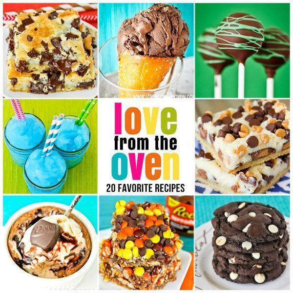 CLICK THE PHOTO TO SEE MY TOP 20 RECIPES! My favourite recipes in five years of blogging!