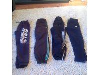 Adidas & Nike Tracksuit Bottoms 4 Pairs