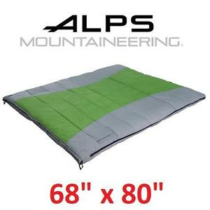 NEW AM 20 DEGREE SLEEPING BAG ALPS MOUNTAINEERING TWIN PEAK 108458321