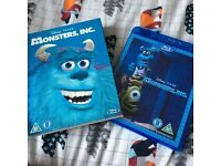 Disney Pixar Monsters Inc Blu Ray with O Ring