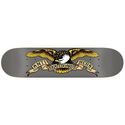 "Anti Hero Skateboard Deck Classic Eagle 8.25"" Antihero FREE GRIP"