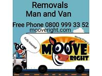 Local Removal / Man & Van Moove Right!