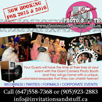 Giant Camera Photo Booth - Book Now!!!