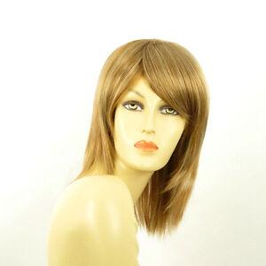 perruque femme mi longue blond fonc m ch blond clair rita f27613 ebay. Black Bedroom Furniture Sets. Home Design Ideas